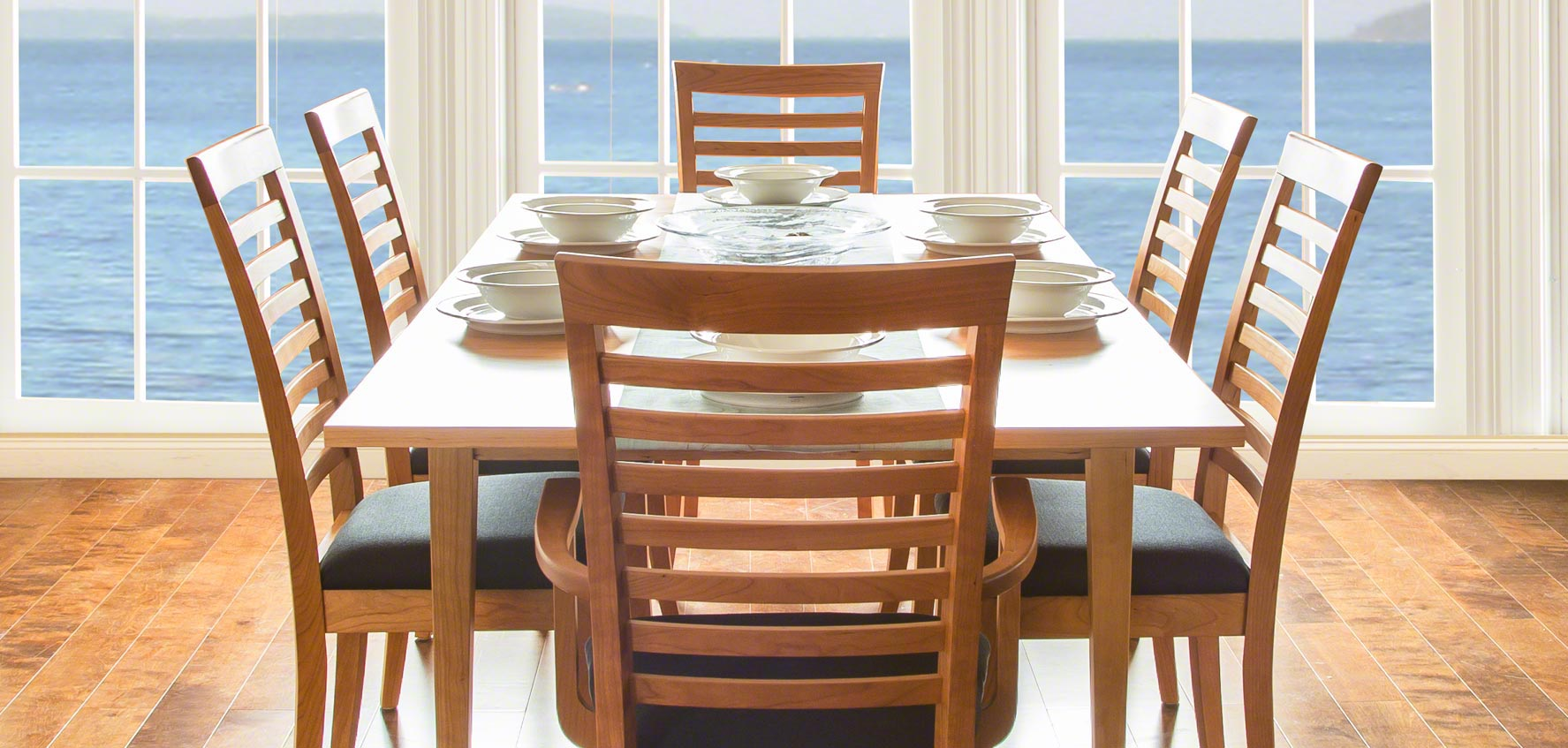 Cherry Wood Dining Chairs Solid Wood Dining Chairs Vermont Woods Studios