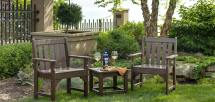 Vineyard Garden Furniture Polywood - Vermont Woods Studios