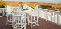 Outdoor Bar Stools & Counter Chairs - Vermont Woods Studios