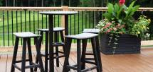 Contempo Bistro Furniture Polywood - Vermont Woods Studios