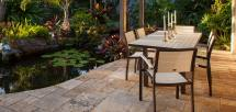 Euro Outdoor Dining Furniture Polywood - Vermont Woods