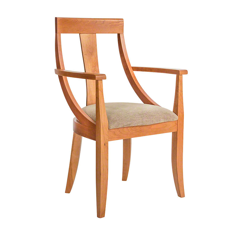 Round Back Dining Chair Vermont Woods Studios