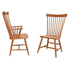 Windsor Chair With Arms Bistro Style Table And Chairs Country Dining Vermont Woods Studios