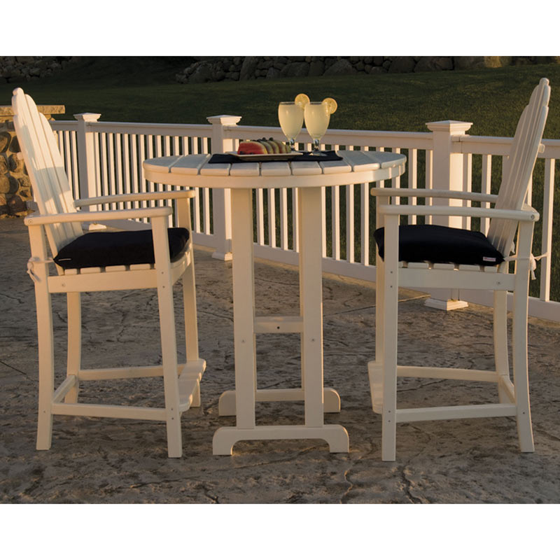 teak dining room chairs for sale foldable patio adirondack counter | all weather outdoor furniture recycled plastic faux wood usa made