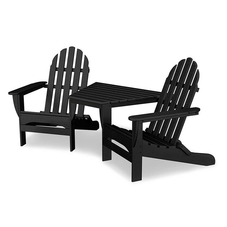 poly wood adirondack chairs foldable bed chair polywood tete a weatherproof outdoor patio furniture