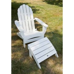 Poly Wood Adirondack Chairs Chair Gym Twister Polywood With Curved Back | All Weather, Solid Recycled Plastic Outdoor Furniture