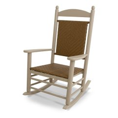 Rocker Outdoor Chairs Bedroom Accent Chair Ideas Polywood Jefferson Plastic Wicker Seat Back American Made