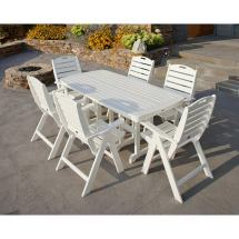 Folding Highback Chair Polywood Patio Dining Chairs