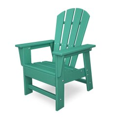 Kids Outdoor Chair Best Pc Gaming Chairs 2018 Polywood South Beach Child S Adirondack Colorful Maintenance Free Plastic Usa Made