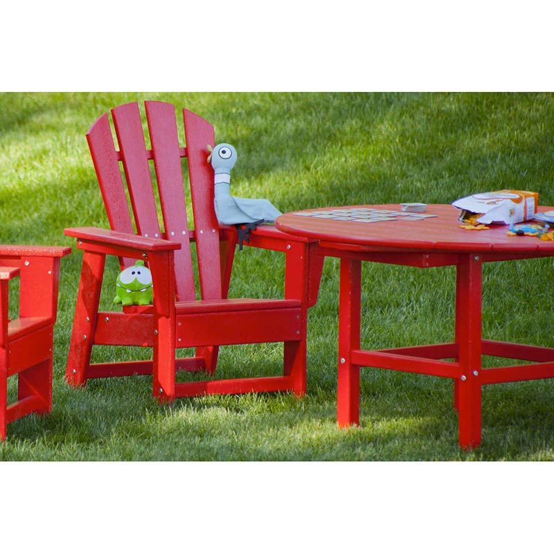 Polywood Childrens  Kids Adirondack Table  Colorful
