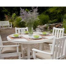 Polywood Traditional Garden 5-piece Chairs & Table Dining Set