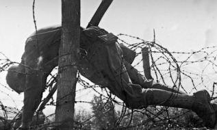 Dead soldier, first world war