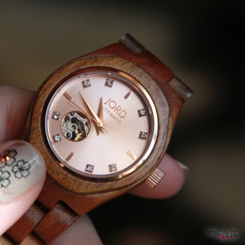 Ma petite montre en bois Jord !