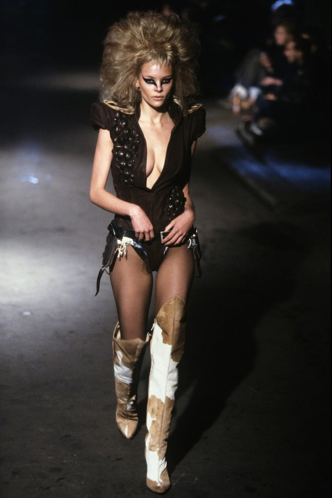 ALEXANDER McQUEEN: IT'S A JUNGLE OUT THERE AW 1997