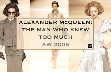 ALEXANDER McQUEEN: THE MAN WHO KNEW TOO MUCH AW 2005