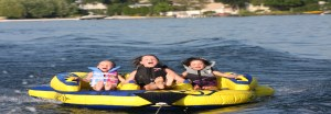 Tube, boat rentals for family