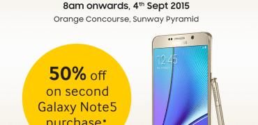 Galaxy Note5 promo