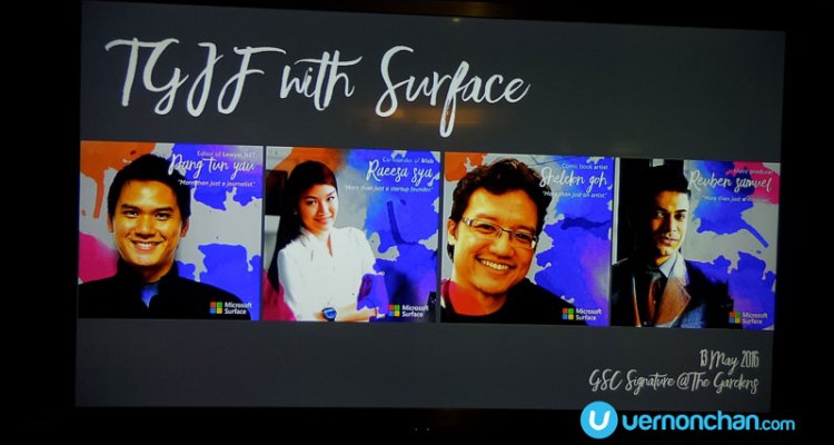 Microsoft Surface Sessions