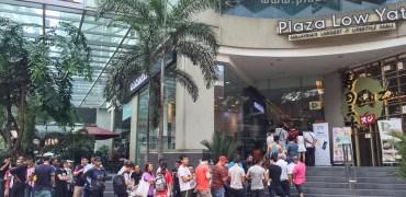 ZTE Blade V7 Lite Plaza Low Yat queue