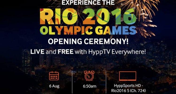 HyppTV Rio 2016