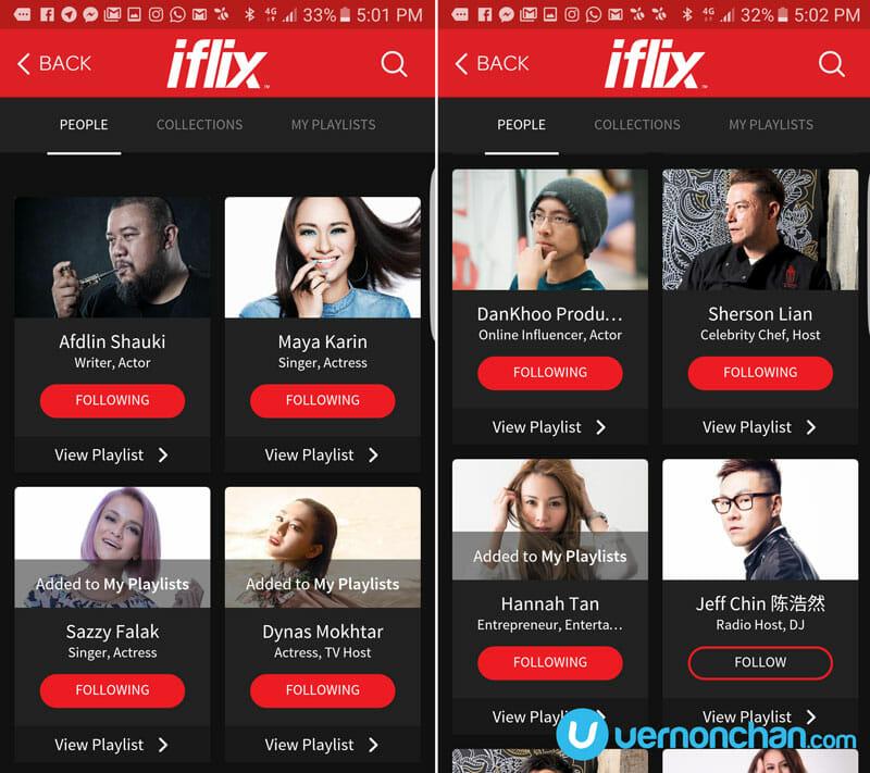 iflix Playlists