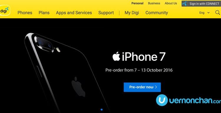 iPhone 7 Digi