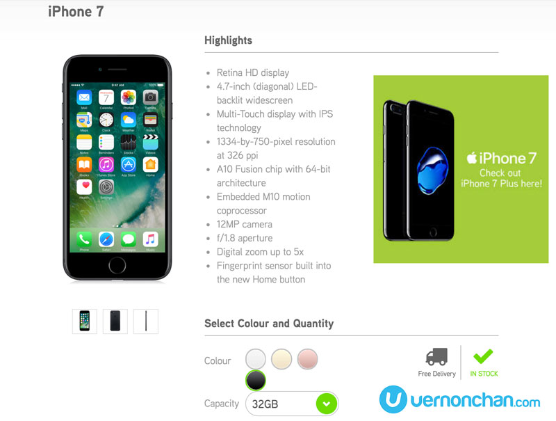 Maxis iPhone 7