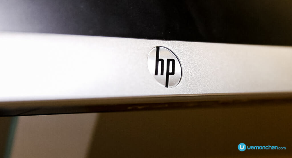 HP 23es display