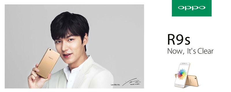 OPPO R9s Lee Min-ho