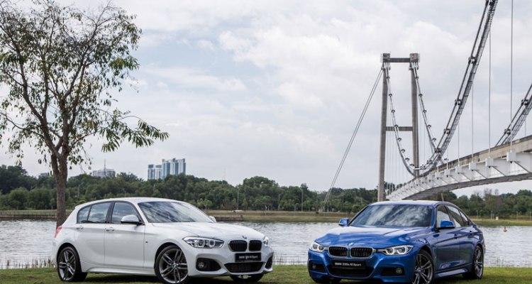 BMW 118i M Sport and BMW 330e M Sport