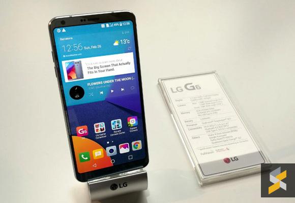 MWC17 LG G6