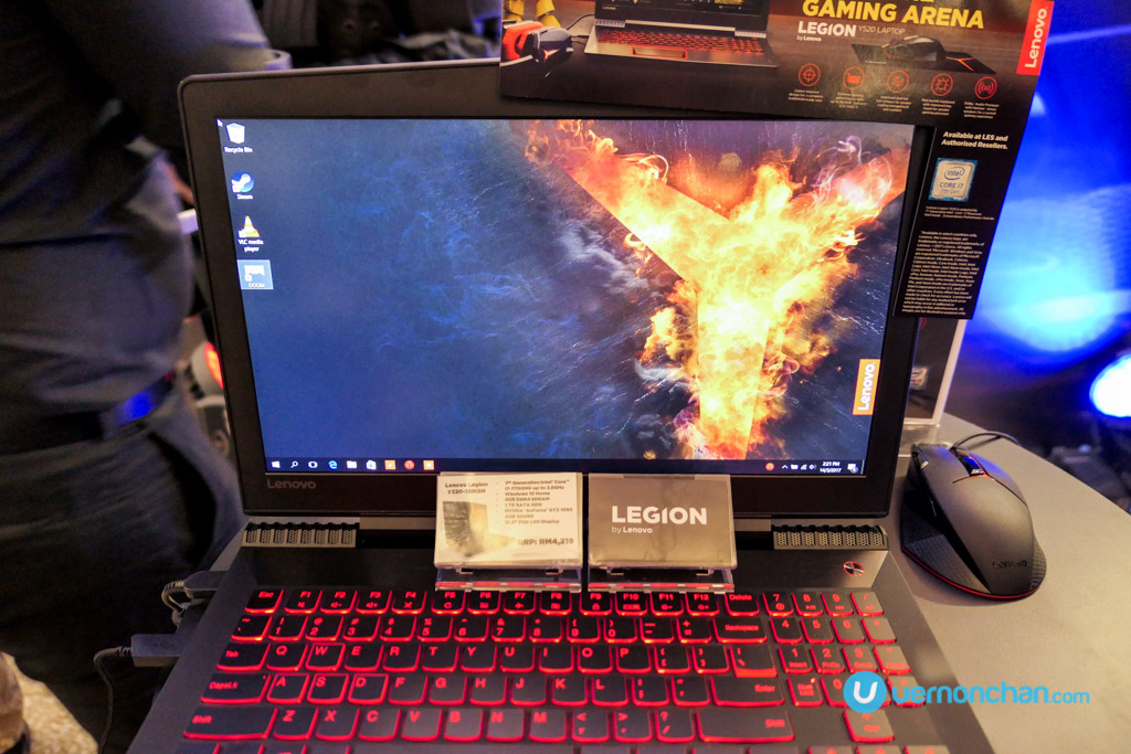 Lenovo Legion launch