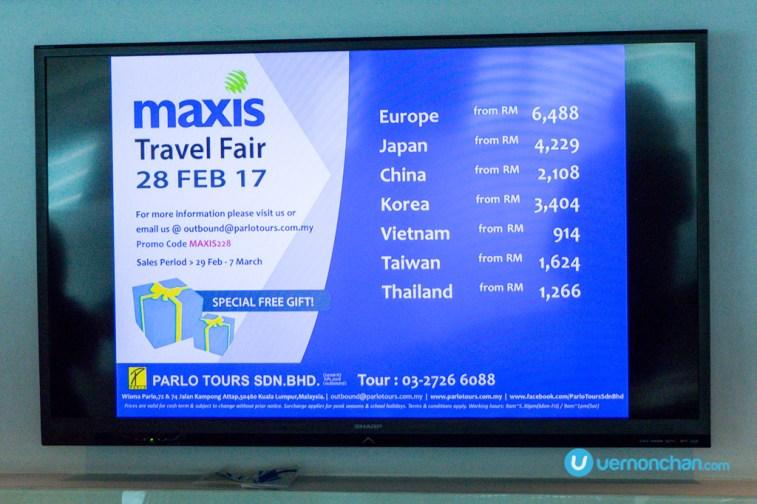 Maxis Travel Fair #lifeatmaxis
