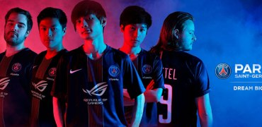 ROG PSG eSports Group Pic