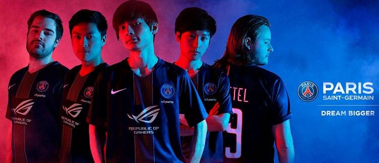 ROG PSG eSports Group Pic