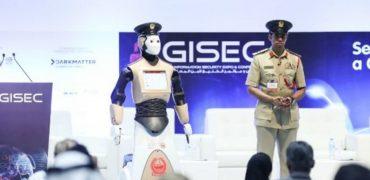 Robot cop Dubai