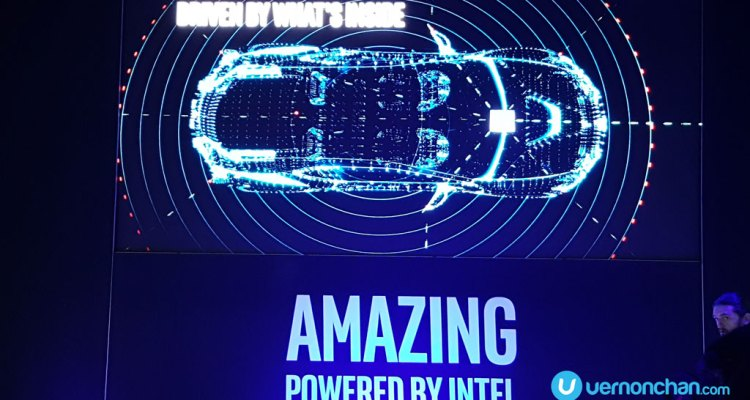 Intel CES 2017 Autonomous Vehicle