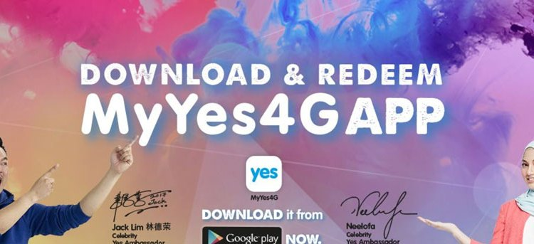 MyYes4G app