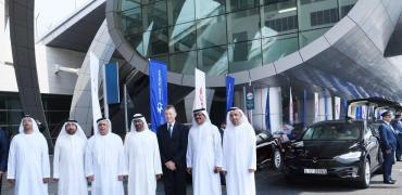 Tesla taxis in Dubai