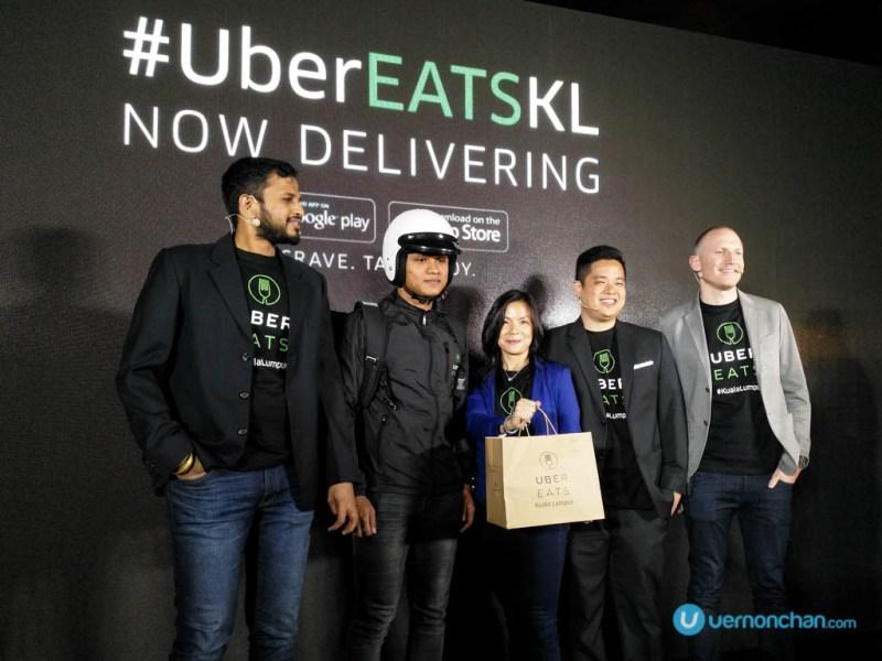 UberEATS KL launch