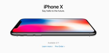 Apple iPhone X pre-order