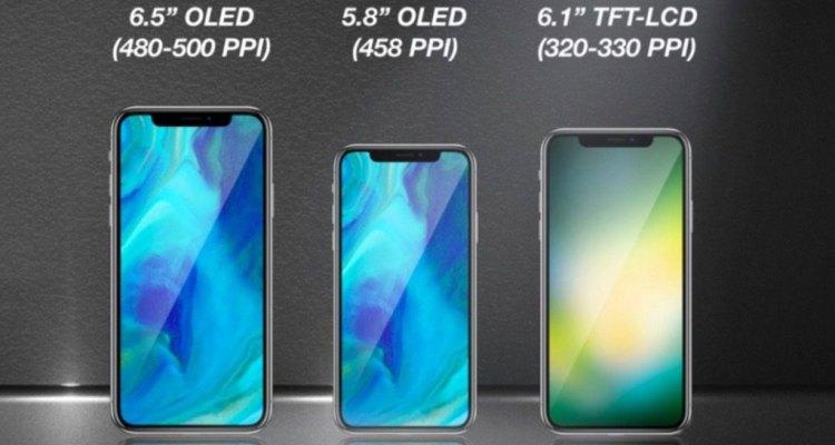 2018 iPhone lineup