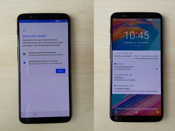 OnePlus 5T unboxed
