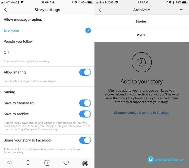 Instagram Stories New Features