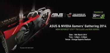 ASUS & NVIDIA Gamers' Gathering