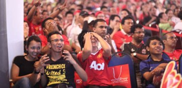 Agonising Fans Watch As Their Team Goes On A Near Miss