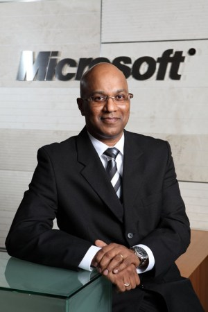 Ananth Lazarus, Managing Director of Microsoft Malaysia