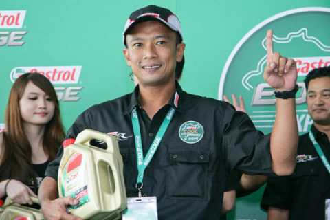 Khairul Izwan, the Castrol EDGE Experience Nurburgring 2011 champ