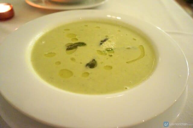 Asparagus Soup | Opus Bistro Preview 1