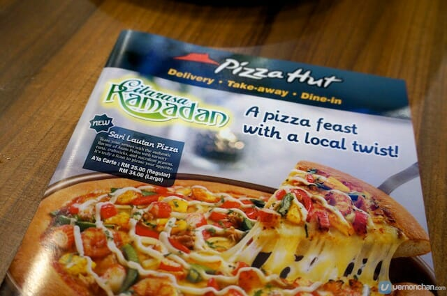 Pizza Hut Ramadan 1